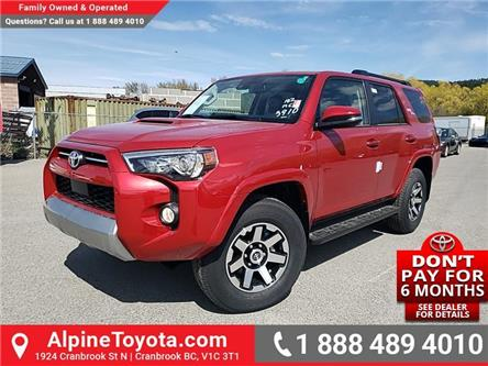 2020 Toyota 4Runner Base (Stk: 5809197) in Cranbrook - Image 1 of 26
