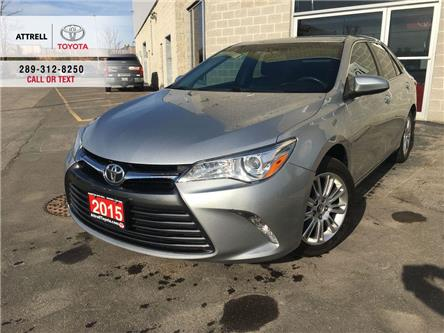 2015 Toyota Camry BACK UP CAMERA, POWER DRIVER SEAT, ABS, ALLOY WHEE (Stk: 8961) in Brampton - Image 1 of 25