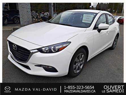2018 Mazda Mazda3 GX (Stk: 18467) in Val-David - Image 1 of 20