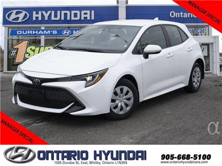 2019 Toyota Corolla Hatchback Base (Stk: 38377K) in Whitby - Image 1 of 19