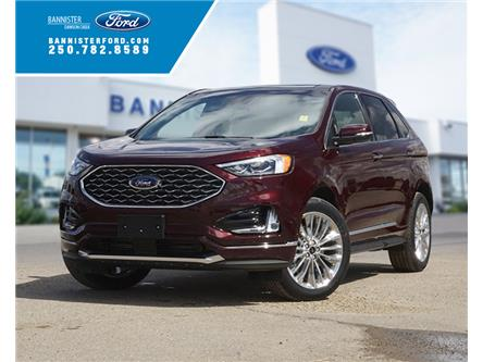 2020 Ford Edge Titanium (Stk: S202107) in Dawson Creek - Image 1 of 18