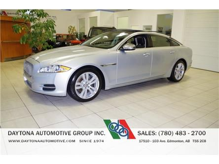 2011 Jaguar XJL XJ-L V8 LONG WHEEL BASE LOADED! (Stk: 2221) in Edmonton - Image 1 of 25