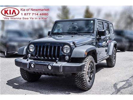 2018 Jeep Wrangler JK Unlimited Sport (Stk: P1133) in Newmarket - Image 1 of 16