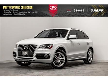 2016 Audi Q5 2.0T Progressiv (Stk: C7404) in Woodbridge - Image 1 of 22