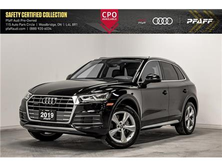 2019 Audi Q5 45 Progressiv (Stk: C7507) in Woodbridge - Image 1 of 21