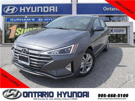2020 Hyundai Elantra Preferred w/Sun & Safety Package (Stk: 947593) in Whitby - Image 1 of 19