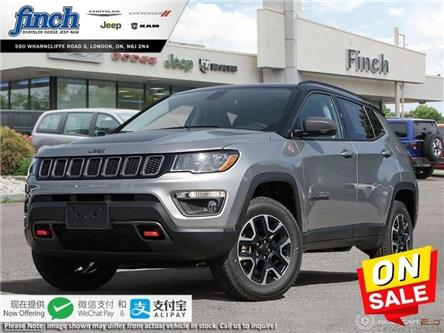 2020 Jeep Compass Trailhawk (Stk: 96423) in London - Image 1 of 24