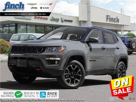 2020 Jeep Compass Trailhawk (Stk: 97281) in London - Image 1 of 24