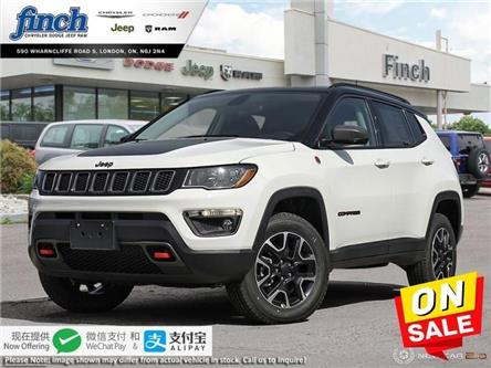 2020 Jeep Compass Trailhawk (Stk: 95967) in London - Image 1 of 24