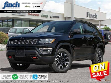 2020 Jeep Compass Trailhawk (Stk: 96034) in London - Image 1 of 24