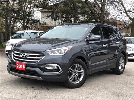 2018 Hyundai Santa Fe Sport SE | AWD | LEATHER | PANO SUNROOF | BACKUP CAM (Stk: 5619) in Stoney Creek - Image 1 of 22