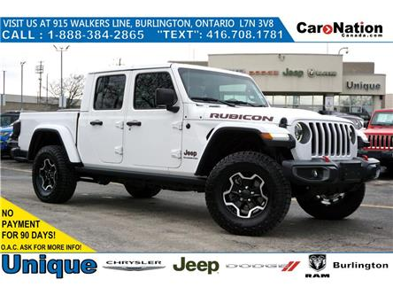 2020 Jeep Gladiator RUBICON| SAFETYTEC| NAV & SOUND| LED| TRAILER TOW (Stk: L038) in Burlington - Image 1 of 42