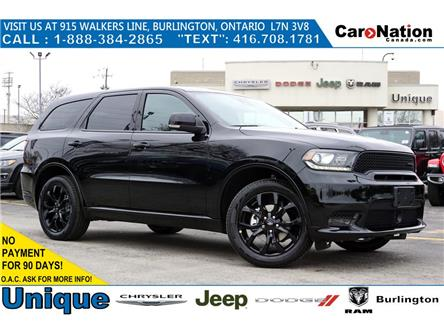 2020 Dodge Durango GT| BLACKTOP| DVD| TECHNOLOGY GRP| TRAILER TOW GRP (Stk: NOU-L596) in Burlington - Image 1 of 46