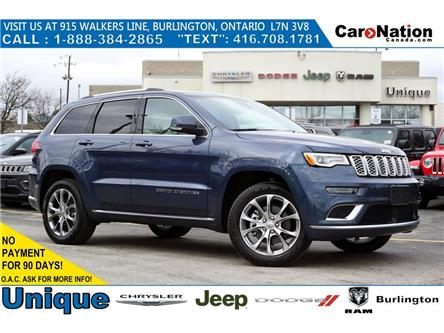 2020 Jeep Grand Cherokee SUMMIT| 5.7HEMI| PREMIUM PKG| SIGNATURE LEATHER (Stk: NOU-L311) in Burlington - Image 1 of 43
