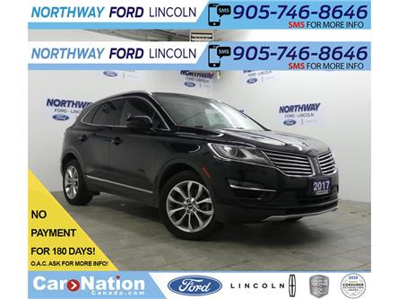 2017 Lincoln MKC Select | AWD | NAV | PWR HTD LEATHER | PANOROOF | (Stk: P5209) in Brantford - Image 1 of 33