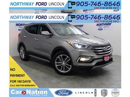 2018 Hyundai Santa Fe Sport Turbo Limited | AWD | NAV | LEATHER | PANOROOF | (Stk: DR599) in Brantford - Image 1 of 43