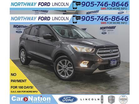 2018 Ford Escape SE | HTD SEATS | BACKUP CAM | USB + BLUETOOTH | (Stk: EC98377A) in Brantford - Image 1 of 35