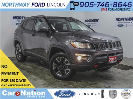 2018 Jeep Compass Trailhawk | 4x4 | NAV | HTD LEATHER | PANOROOF | (Stk: CND1) in Brantford - Image 1 of 47