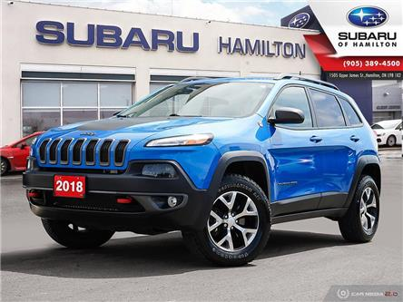 2018 Jeep Cherokee Trailhawk (Stk: S8294A) in Hamilton - Image 1 of 27