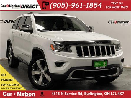 2014 Jeep Grand Cherokee Limited (Stk: L329A) in Burlington - Image 1 of 38