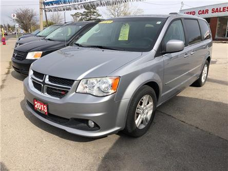 2013 Dodge Grand Caravan Crew (Stk: 19-7372A) in Hamilton - Image 1 of 19