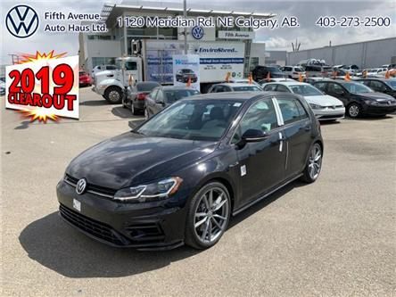 2019 Volkswagen Golf R 2.0 TSI (Stk: 19248) in Calgary - Image 1 of 27