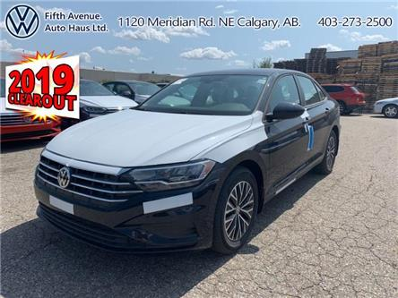 2019 Volkswagen Jetta 1.4 TSI Highline (Stk: 19355) in Calgary - Image 1 of 26