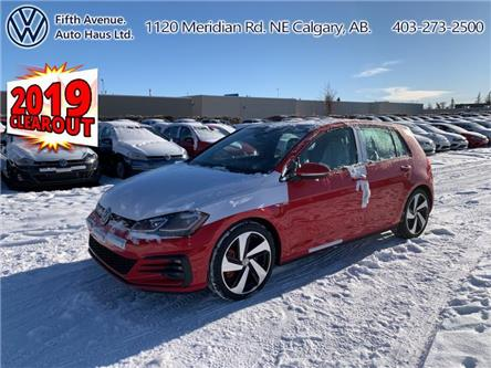 2019 Volkswagen Golf GTI 5-Door Autobahn (Stk: 19449) in Calgary - Image 1 of 29