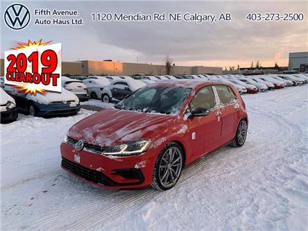 2019 Volkswagen Golf R 2.0 TSI (Stk: 19479) in Calgary - Image 1 of 27