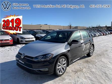 2019 Volkswagen Golf 1.4 TSI Execline (Stk: 19524) in Calgary - Image 1 of 26