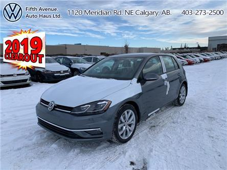 2019 Volkswagen Golf 1.4 TSI Execline (Stk: 19545) in Calgary - Image 1 of 26