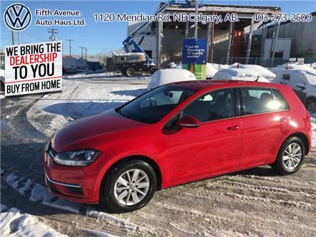 2019 Volkswagen Golf 1.4 TSI Comfortline (Stk: 3478) in Calgary - Image 1 of 25