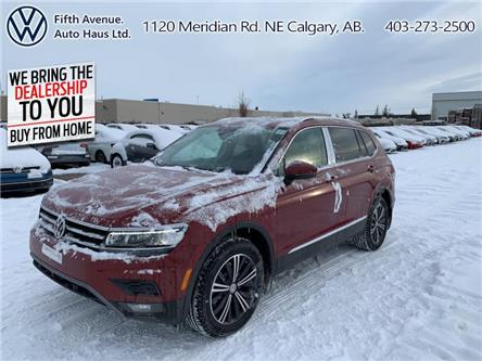2020 Volkswagen Tiguan Highline (Stk: 20005) in Calgary - Image 1 of 30