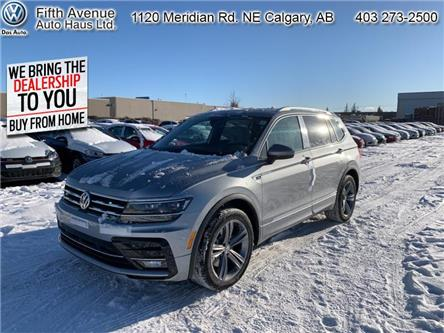 2020 Volkswagen Tiguan Highline (Stk: 20015) in Calgary - Image 1 of 30