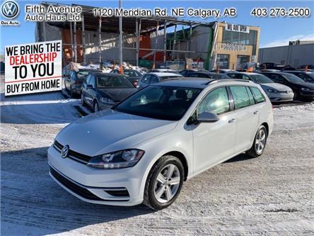 2019 Volkswagen Golf SportWagen 1.8 TSI Comfortline (Stk: 3508) in Calgary - Image 1 of 24