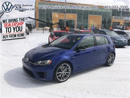 2017 Volkswagen Golf R 2.0 TSI (Stk: 3555) in Calgary - Image 1 of 26
