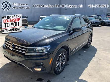 2019 Volkswagen Tiguan Highline (Stk: 3499) in Calgary - Image 1 of 30