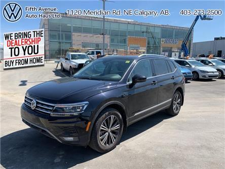 2019 Volkswagen Tiguan Highline (Stk: 3520) in Calgary - Image 1 of 30