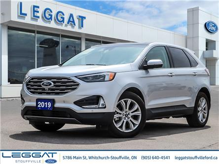 2019 Ford Edge Titanium (Stk: U5368) in Stouffville - Image 1 of 30