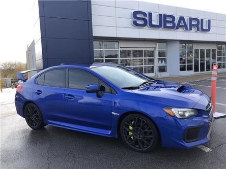 2018 Subaru WRX STI Sport-tech w/Wing (Stk: P555) in Newmarket - Image 1 of 25