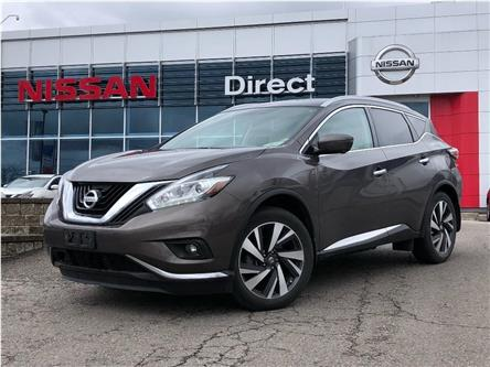 2017 Nissan Murano Platinum (Stk: N4359A) in Mississauga - Image 1 of 23
