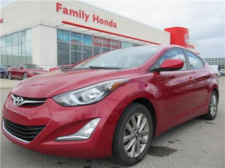 2016 Hyundai Elantra 4dr Sdn Auto Sport Appearance | GREAT VALUE !! (Stk: 582114T) in Brampton - Image 1 of 28