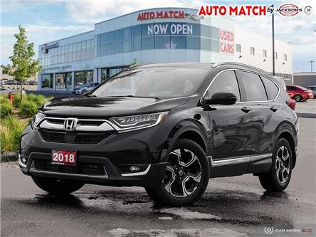 2018 Honda CR-V Touring (Stk: U3352C) in Barrie - Image 1 of 28