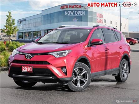 2016 Toyota RAV4 XLE (Stk: U9671A) in Barrie - Image 1 of 27