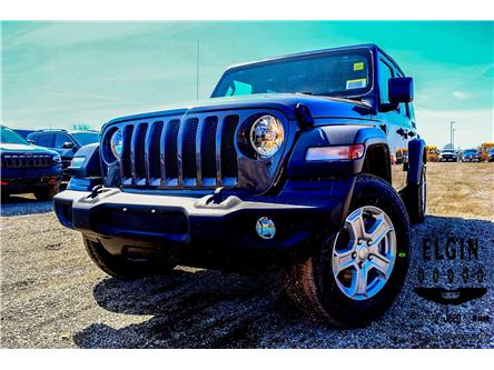 2019 Jeep Wrangler Unlimited Sport (Stk: 91837) in St. Thomas - Image 1 of 30