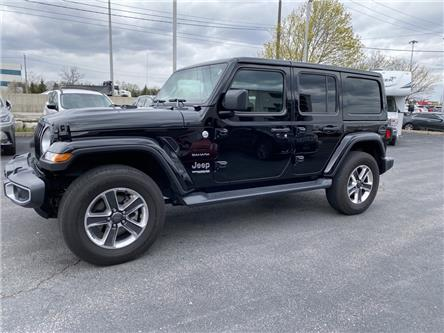 2020 Jeep Wrangler Unlimited Sahara (Stk: 365-11) in Oakville - Image 1 of 12
