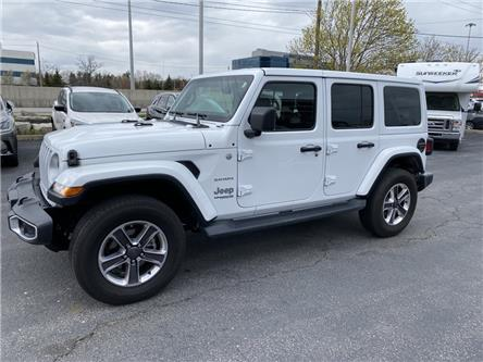2020 Jeep Wrangler Unlimited Sahara (Stk: 365-10) in Oakville - Image 1 of 14