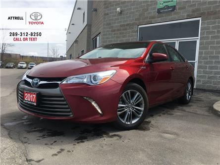 2017 Toyota Camry Hybrid XLE LEATHER POWER SEAT, NAVI, ALLOYS, QI CHARGING, (Stk: 46692A) in Brampton - Image 1 of 26