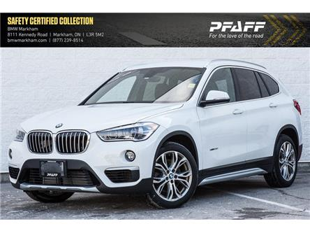 2017 BMW X1 xDrive28i (Stk: D12846) in Markham - Image 1 of 20