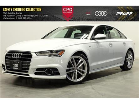 2017 Audi A6 3.0T Technik (Stk: UCR0018) in Woodbridge - Image 1 of 17